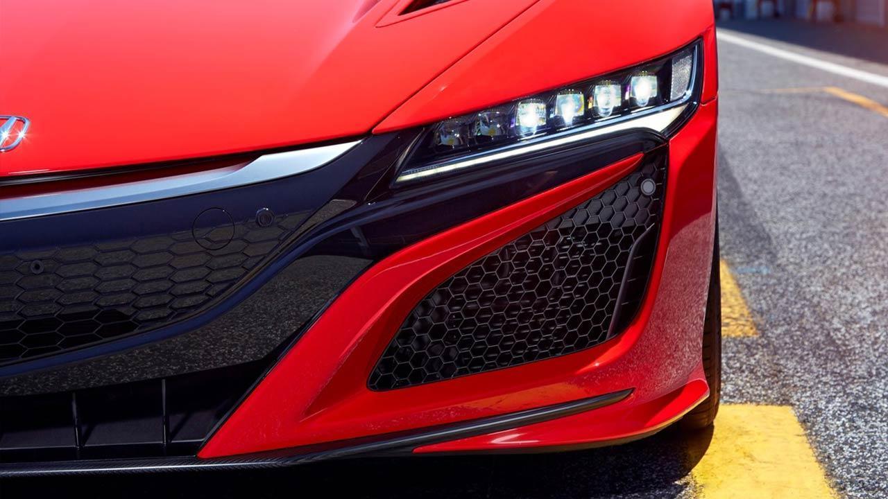 Honda NSX - Frontspoiler