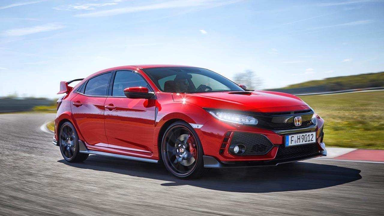 Honda Civic Type R - Seitenansicht