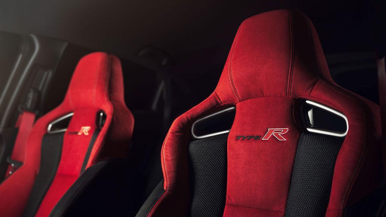 Honda Civic Type R - Rennsitze