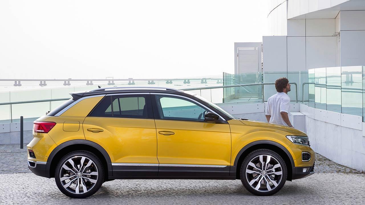 Volkswagen T-Roc - Seitenansicht