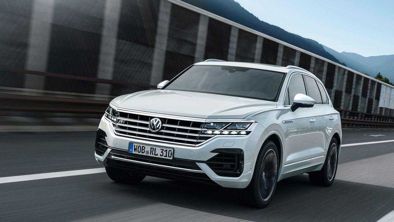 Volkswagen Touareg - in voller Fahrt
