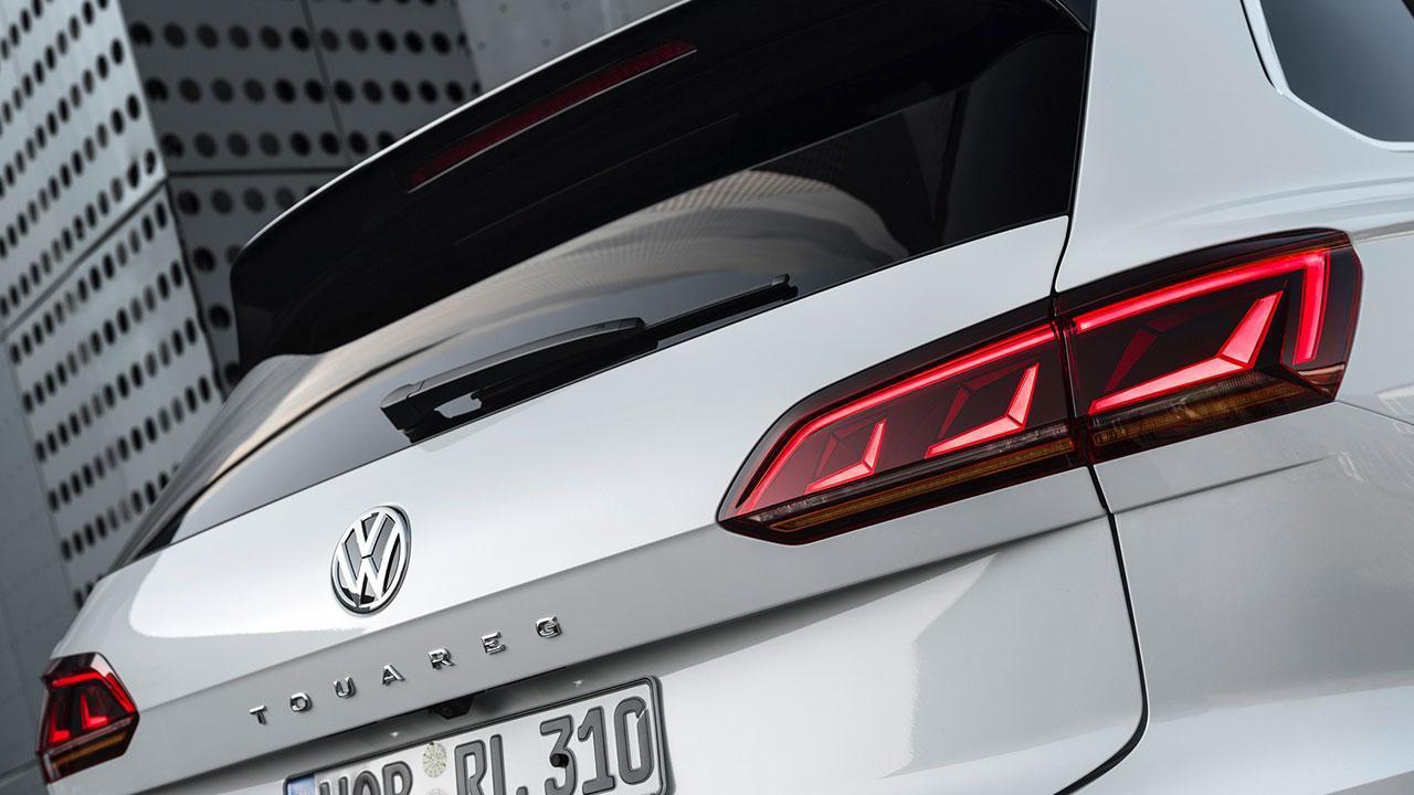 Volkswagen Touareg - Heck