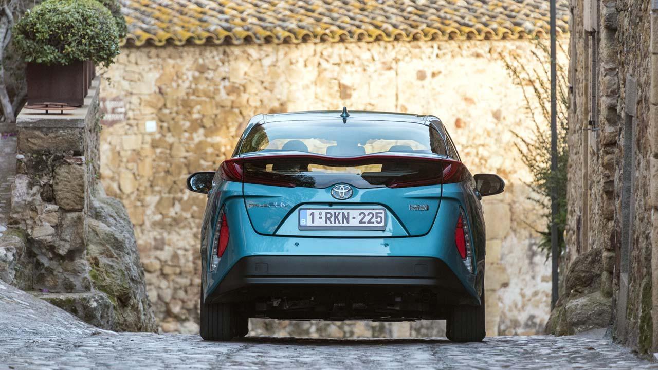 Toyota Prius Plug-in Hybrid - Heckansicht