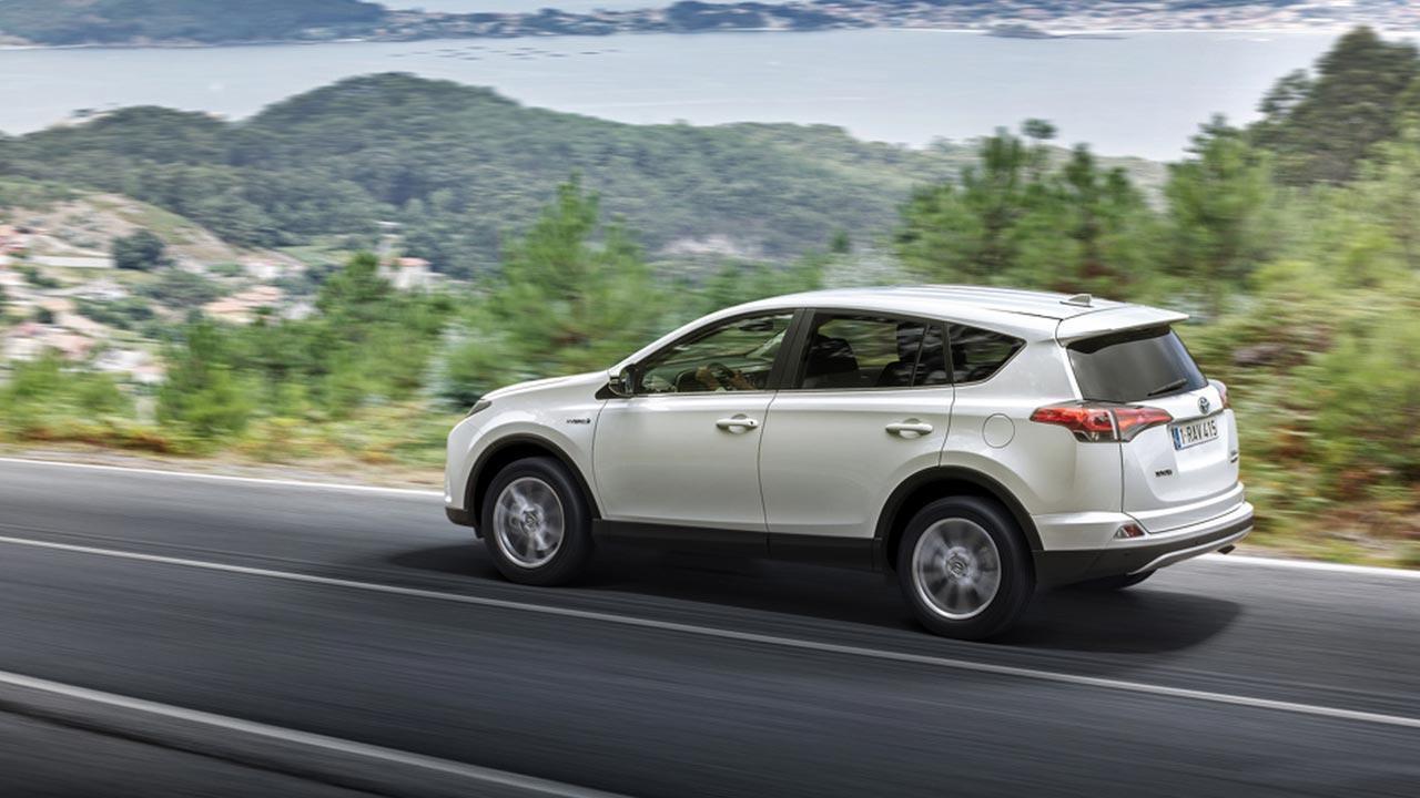 Toyota RAV4 - Seitenansicht