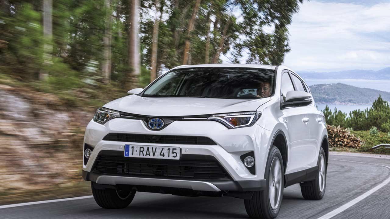 Toyota RAV4 - Frontansicht