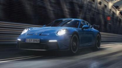 Weltpremiere des neuen Porsche 911 GT3