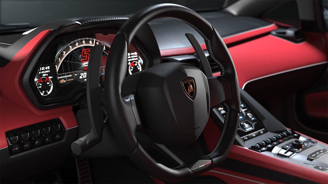 Lamborghini Countach LPI 800-4 - Lenkrad