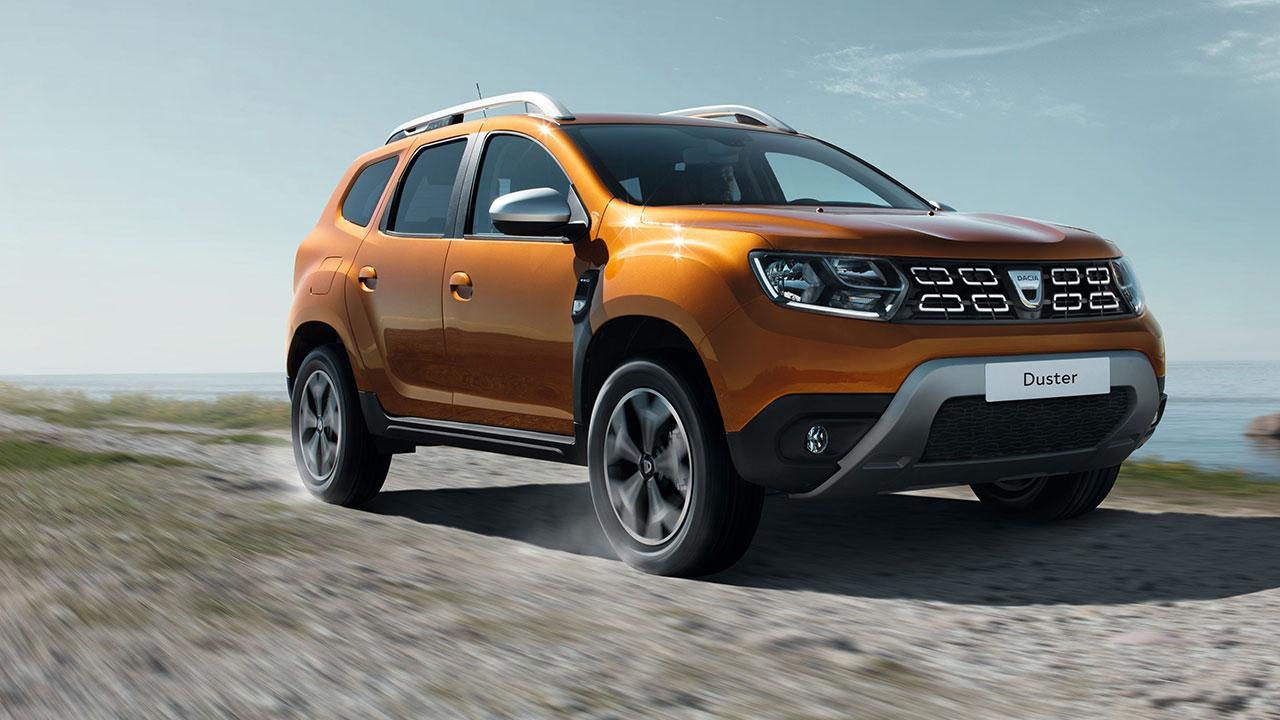 Dacia Duster - in voller Fahrt