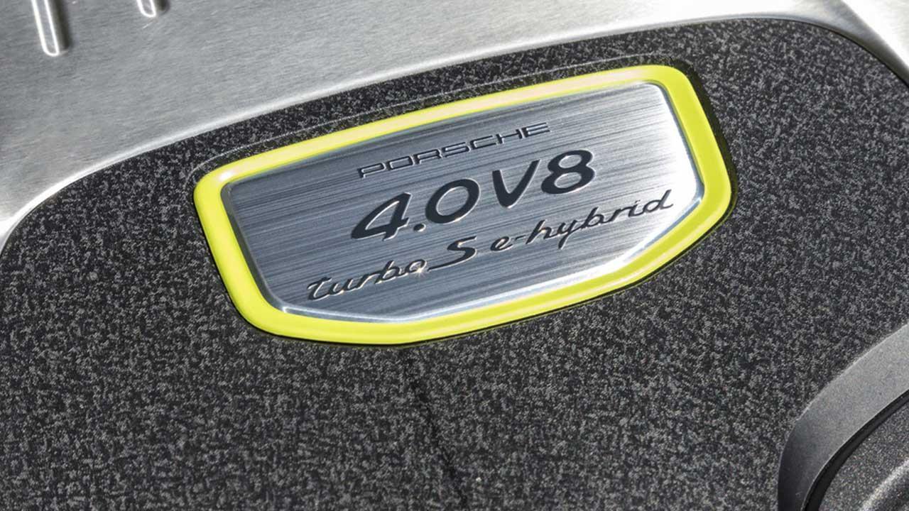Porsche Panamera Turbo S E-Hybrid - Typenschild