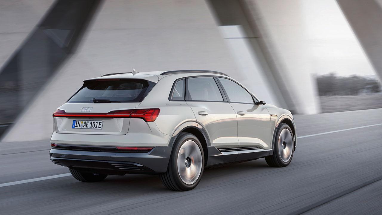 Audi e-tron - Heckansicht