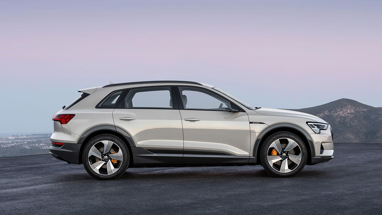Audi e-tron - Seitenansicht