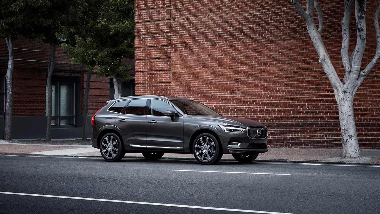 Volvo XC60 - in der Stadt