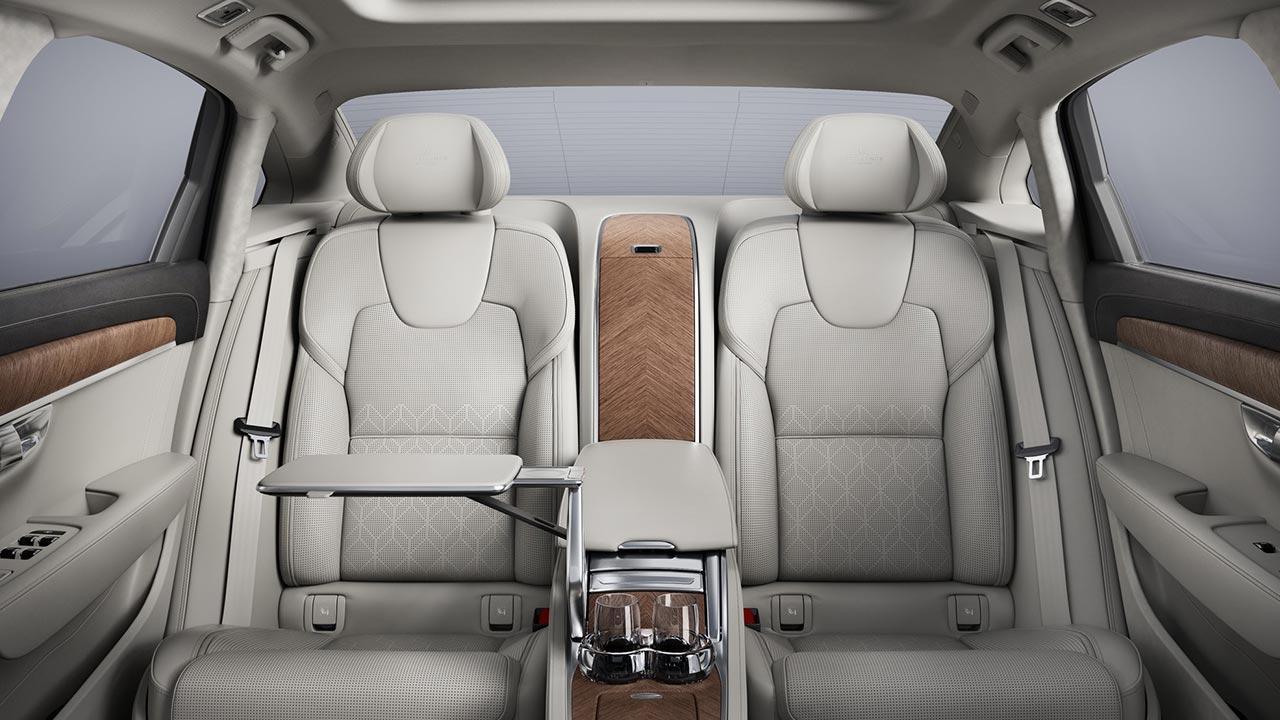Volvo S90 - Rücksitze