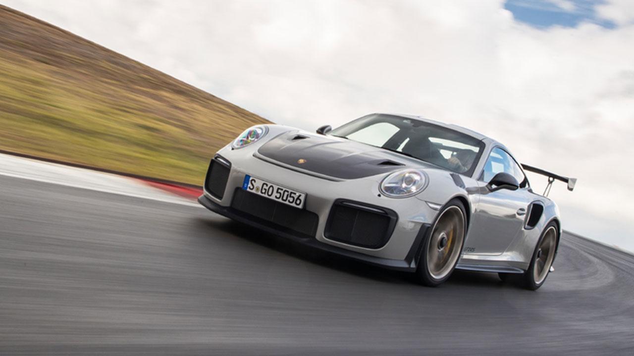 Porsche 911 GT2 RS - auf der Rennstrecke