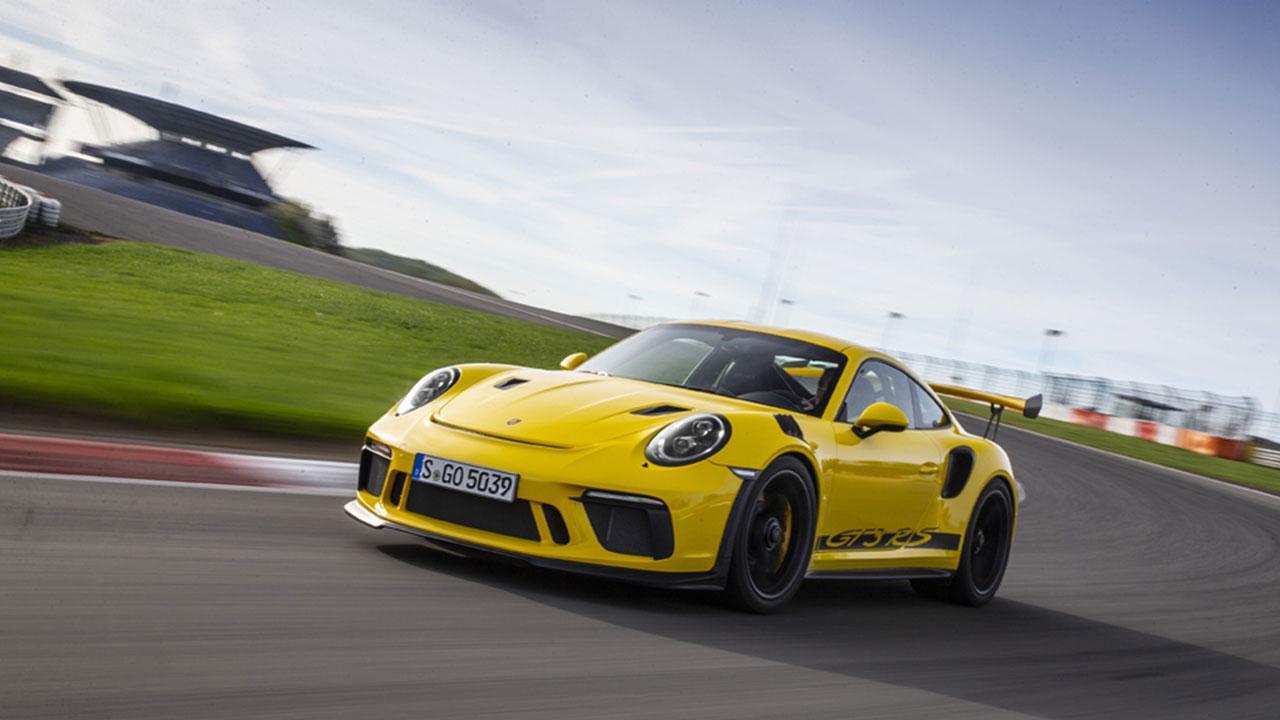 Porsche 911 GT3 RS - auf der Rennstrecke