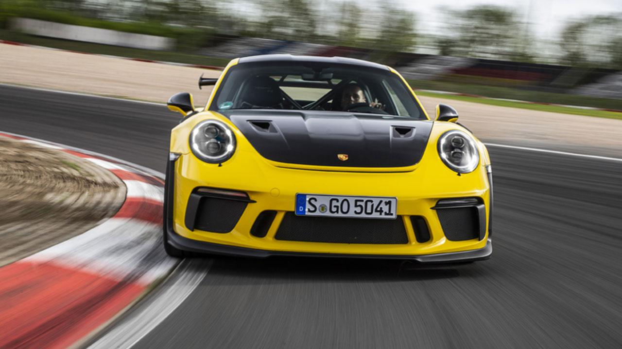 che 911 GT3 RS - Frontansicht