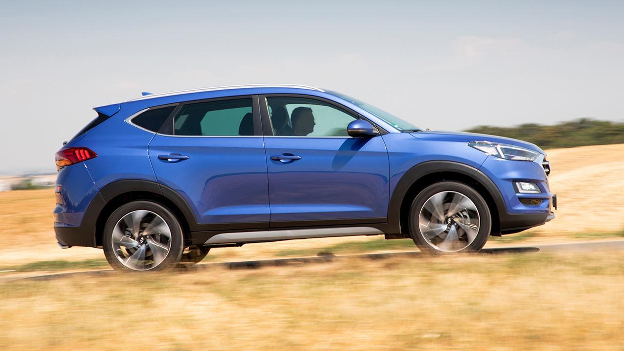Hyundai Tucson - Seitenansicht