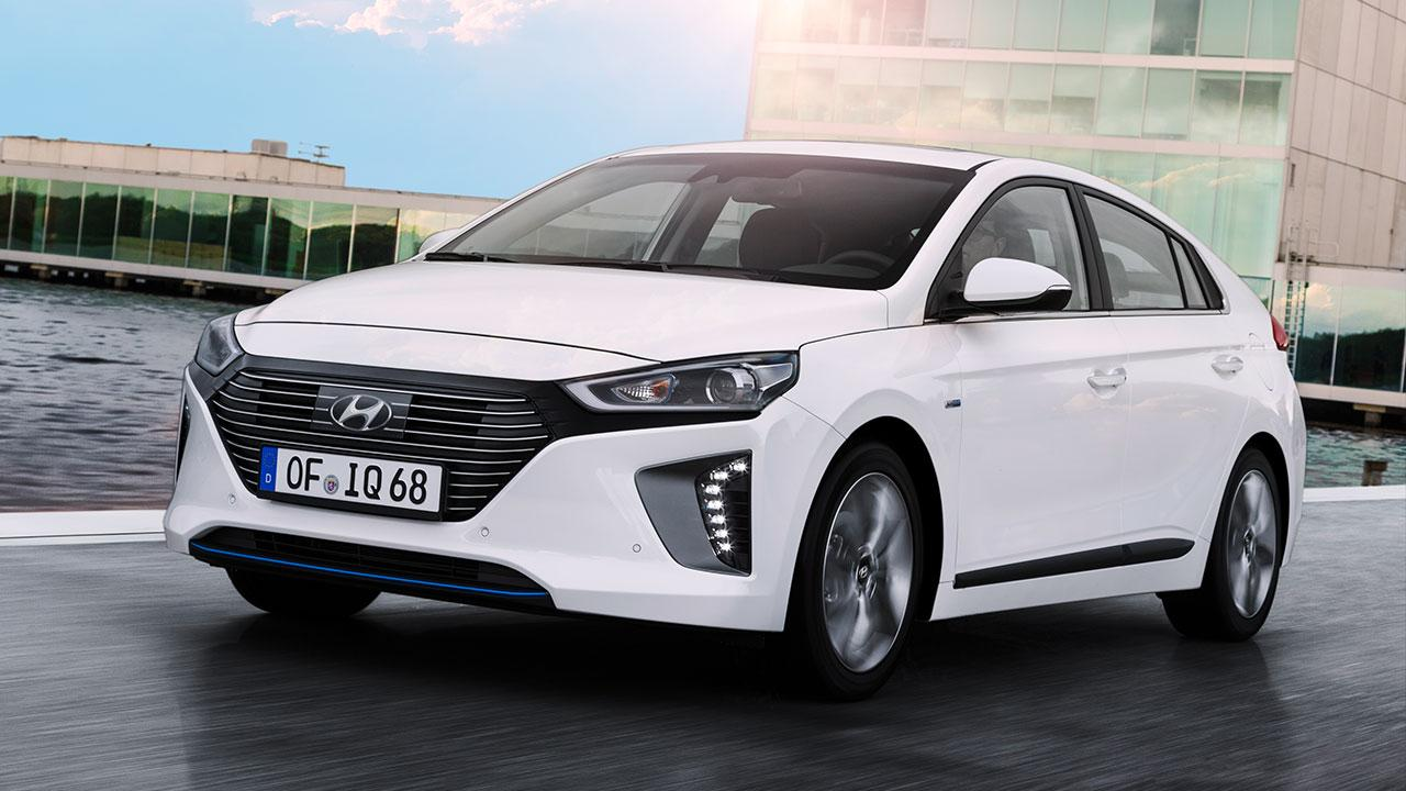 Hyundai Ioniq Hybrid - Frontansicht