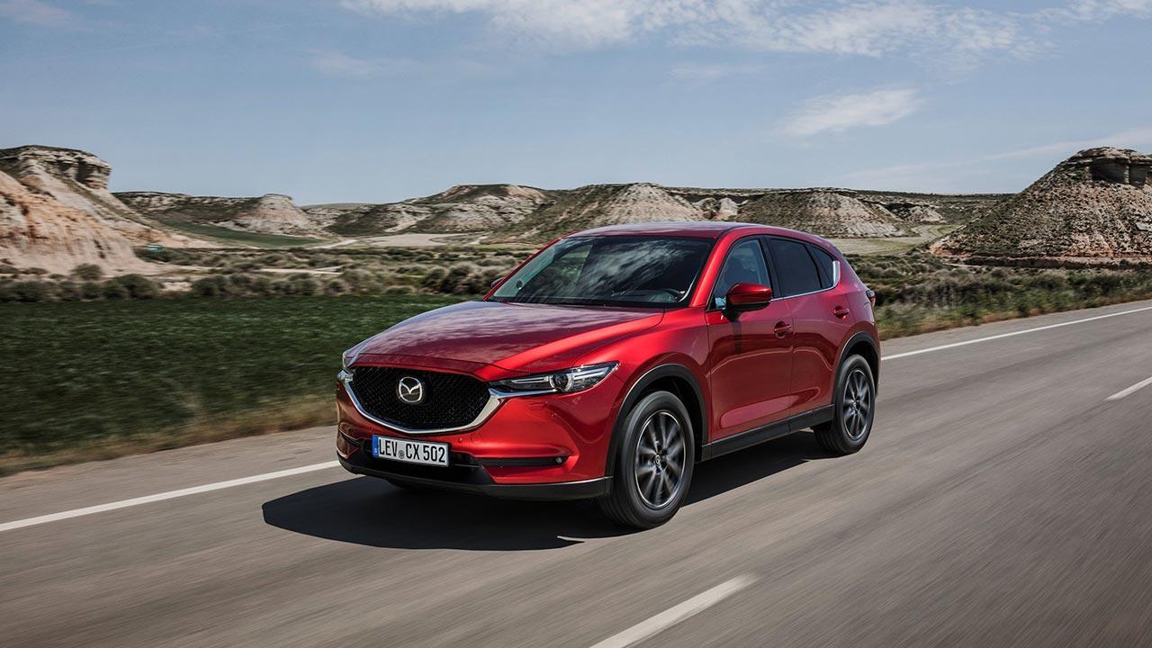 Mazda CX-5 - durch die Wüste