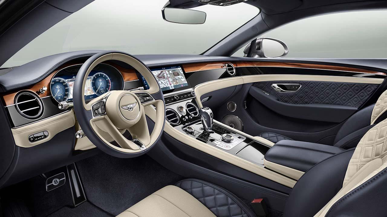 Bentley Continental GT - Cockpit