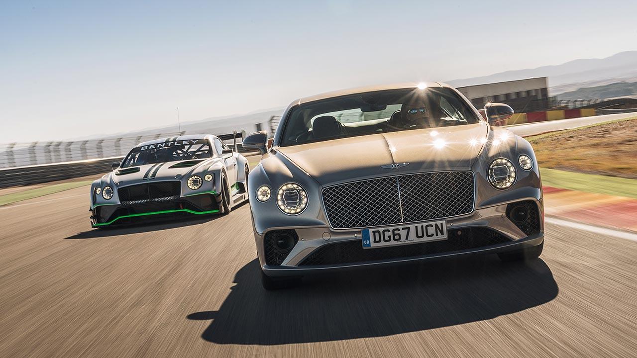 Bentley Continental GT - auf der Rennstrecke