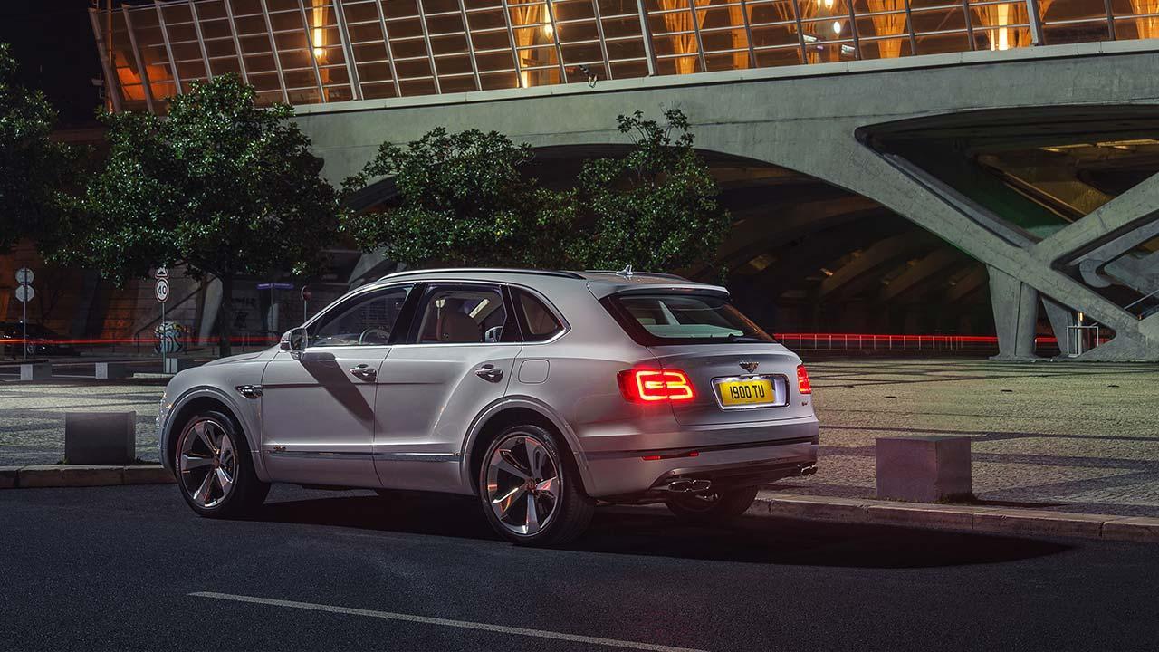 Bentley Bentayga Hybrid - Seitenansicht