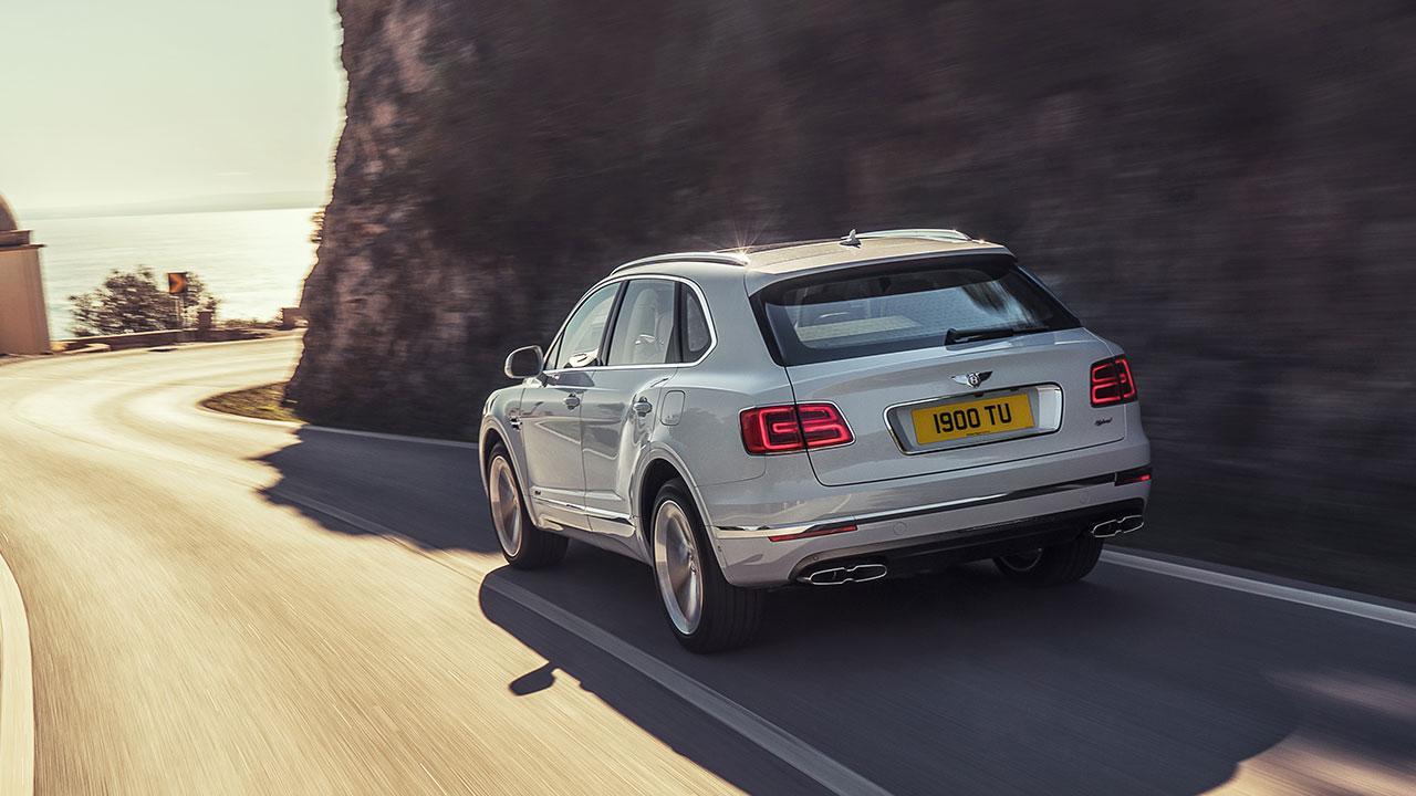 Bentley Bentayga Hybrid - Heckansicht