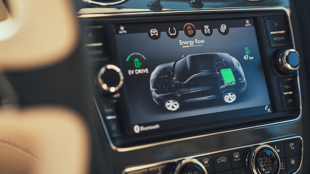 Bentley Bentayga Hybrid - Bordcomputer