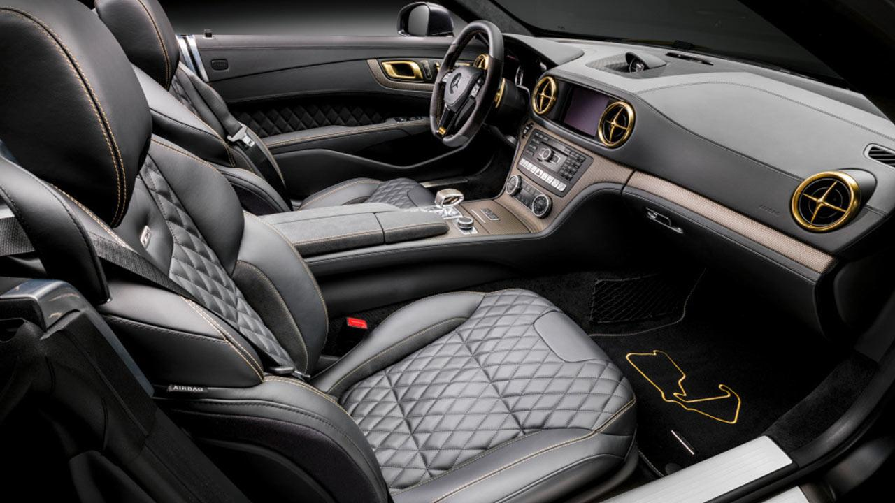 Mercedes AMG SL 63 - Cockpit