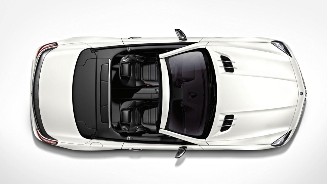 Mercedes AMG SL 63 - Vogelperspektive
