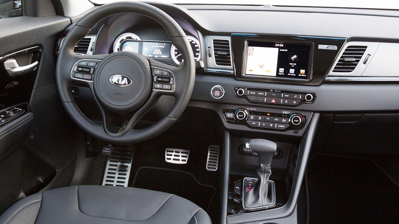 Kia Niro Hybrid - Cockpit