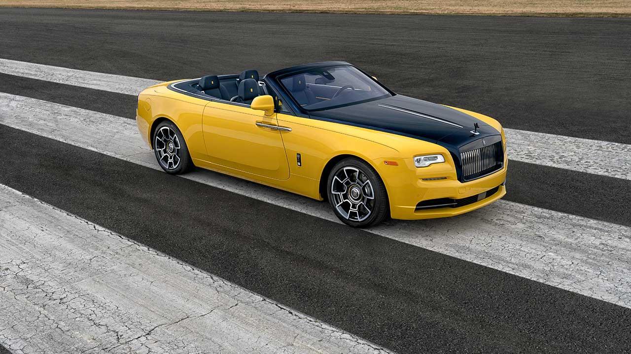 Rolls Royce Dawn Cabrio - Seitenansicht