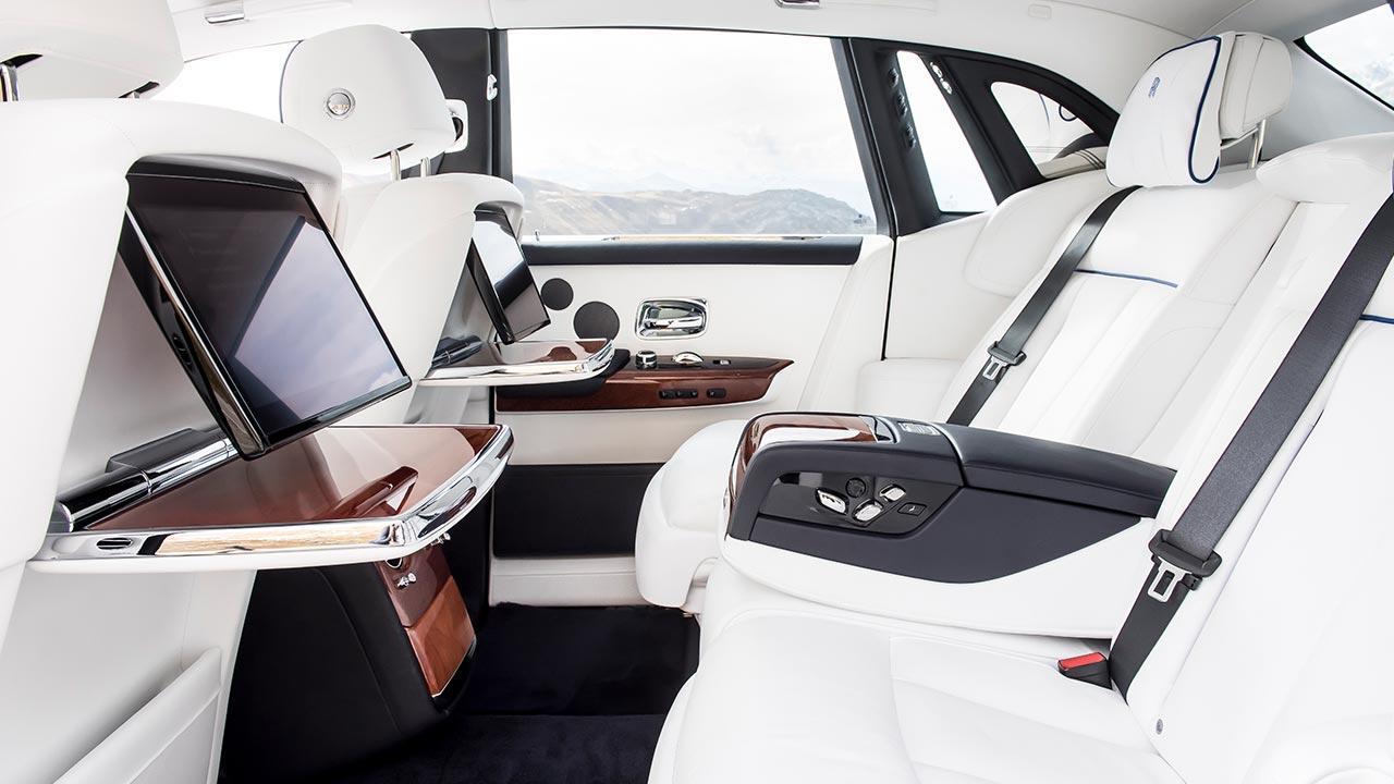 Rolls Royce Phantom - Rücksitze