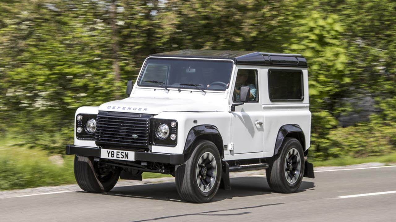 Land Rover Defender - Frontansicht