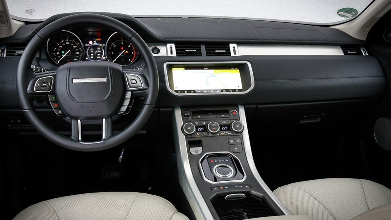 Range Rover Evoque - Cockpit