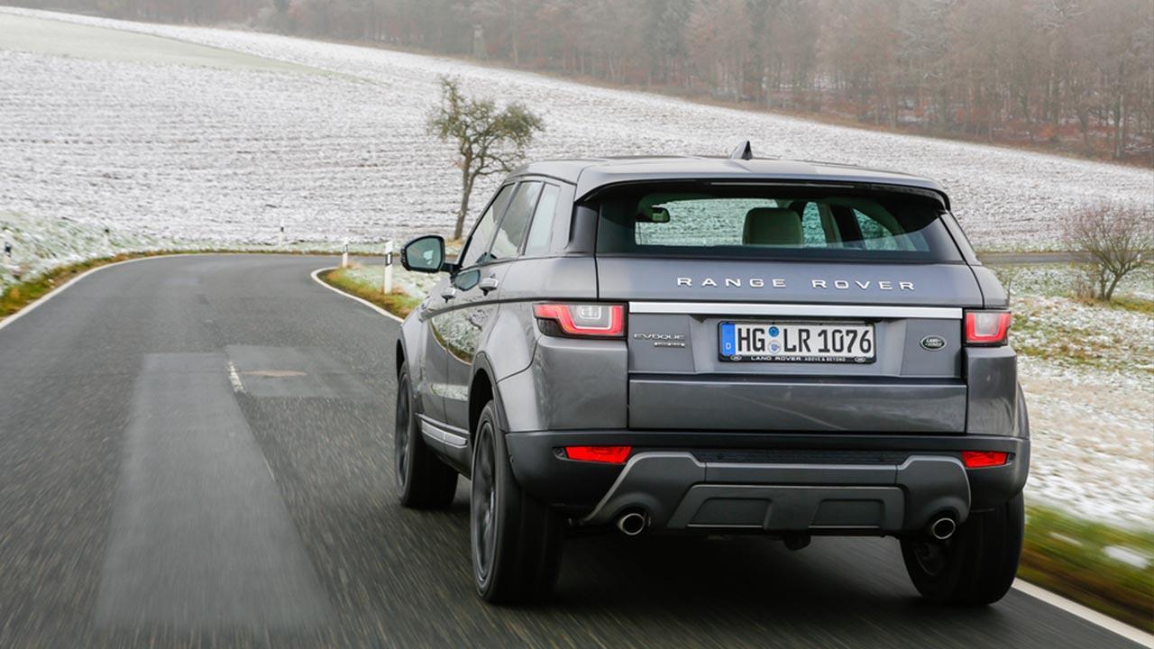Range Rover Evoque - Heckansicht