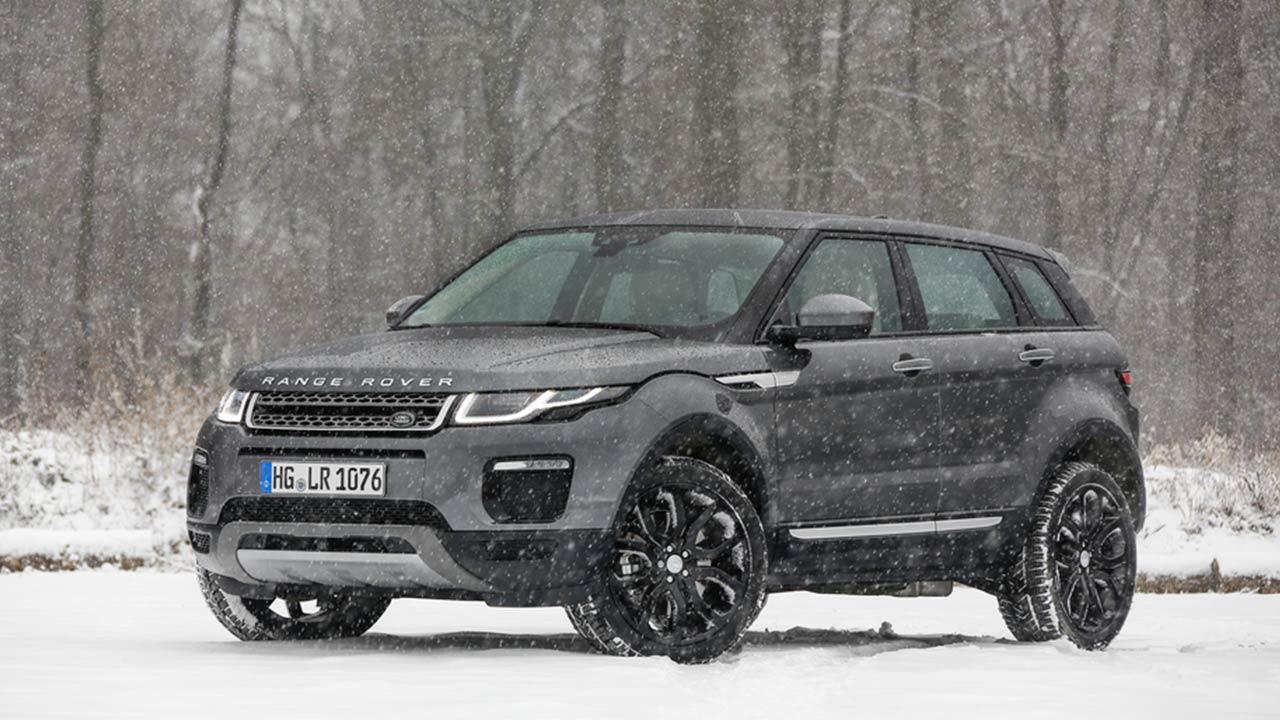 Range Rover Evoque - Seitenansicht