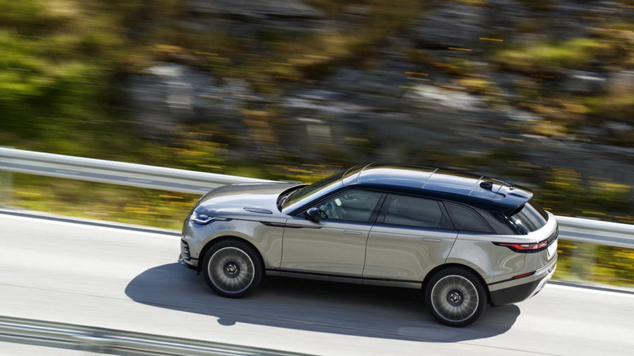 Range Rover Velar - Seitenansicht