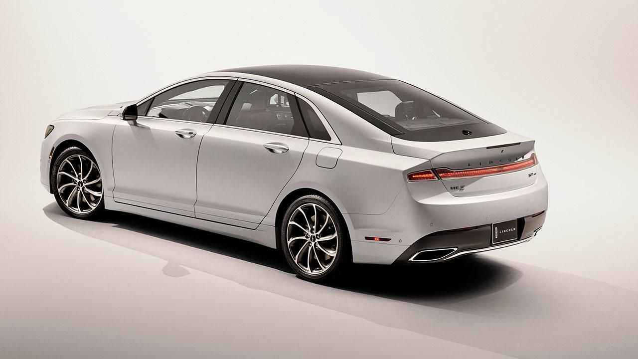 Lincoln MKZ Hybrid - Seitenansicht