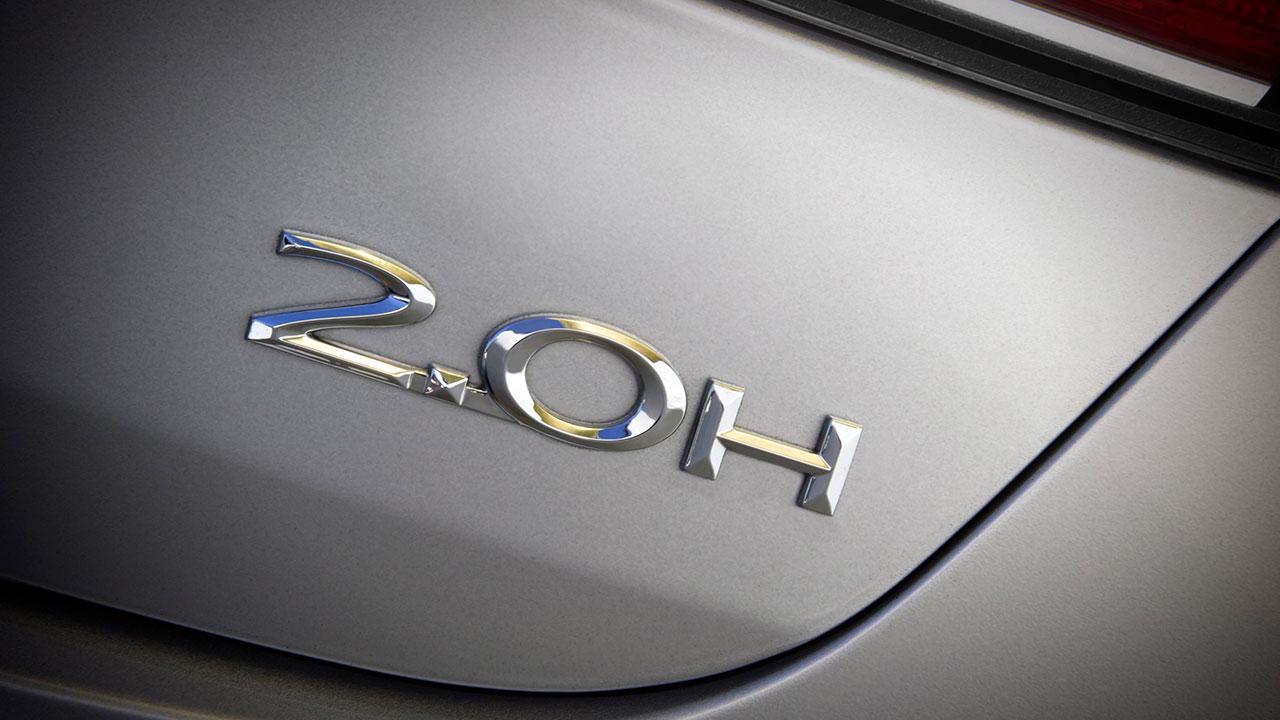 Lincoln MKZ Hybrid - Schriftzug