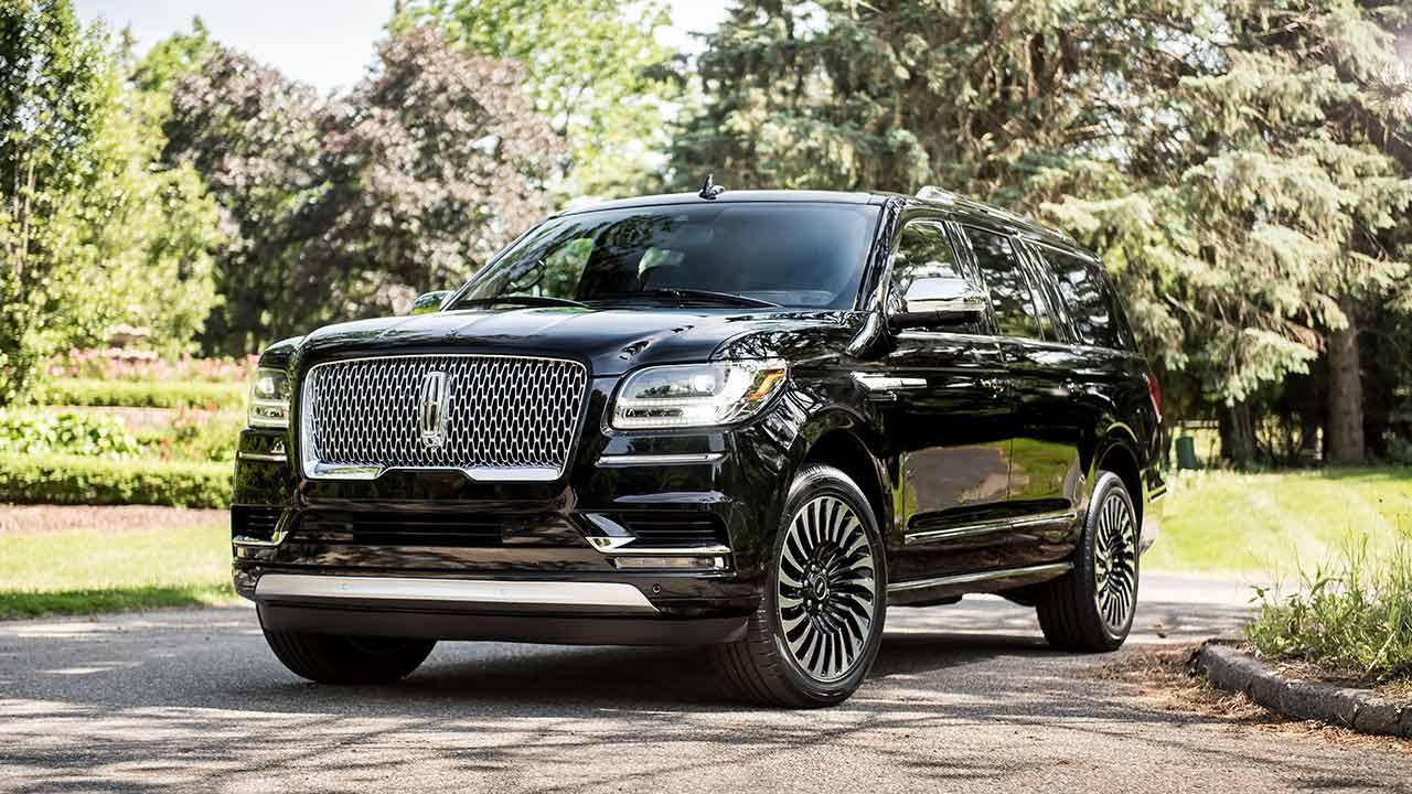 Lincoln Navigator - in schwarz