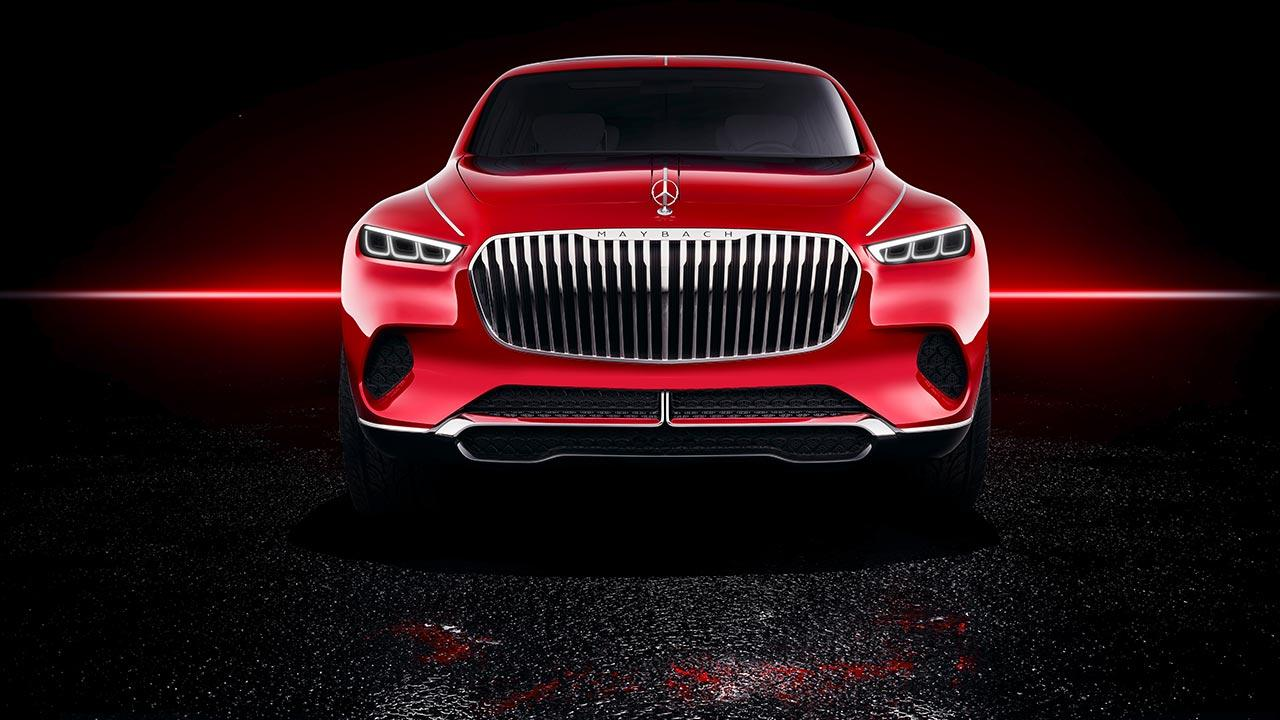 Vision Mercedes-Maybach Ultimate Luxury - Kühlergrill