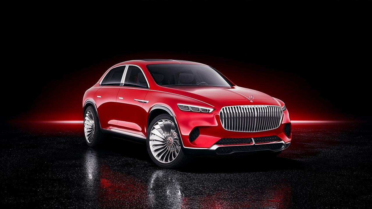 Vision Mercedes-Maybach Ultimate Luxury - Frontansicht