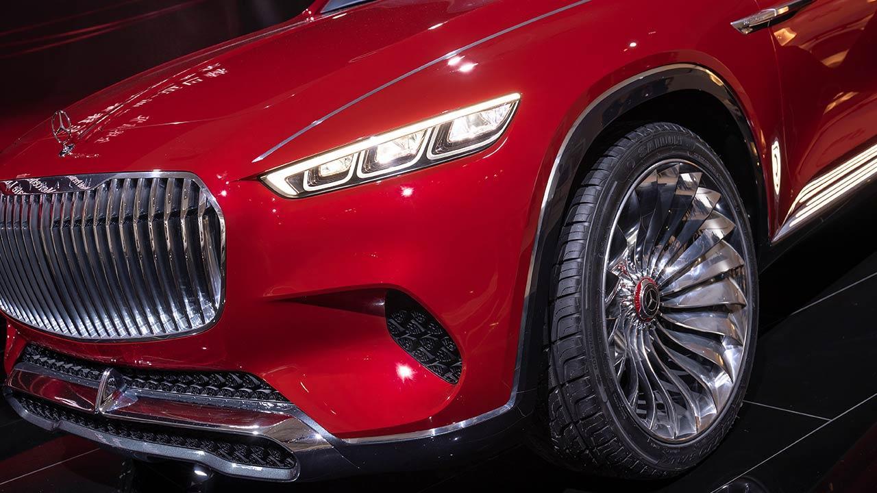 Vision Mercedes-Maybach Ultimate Luxury - Vorderansicht