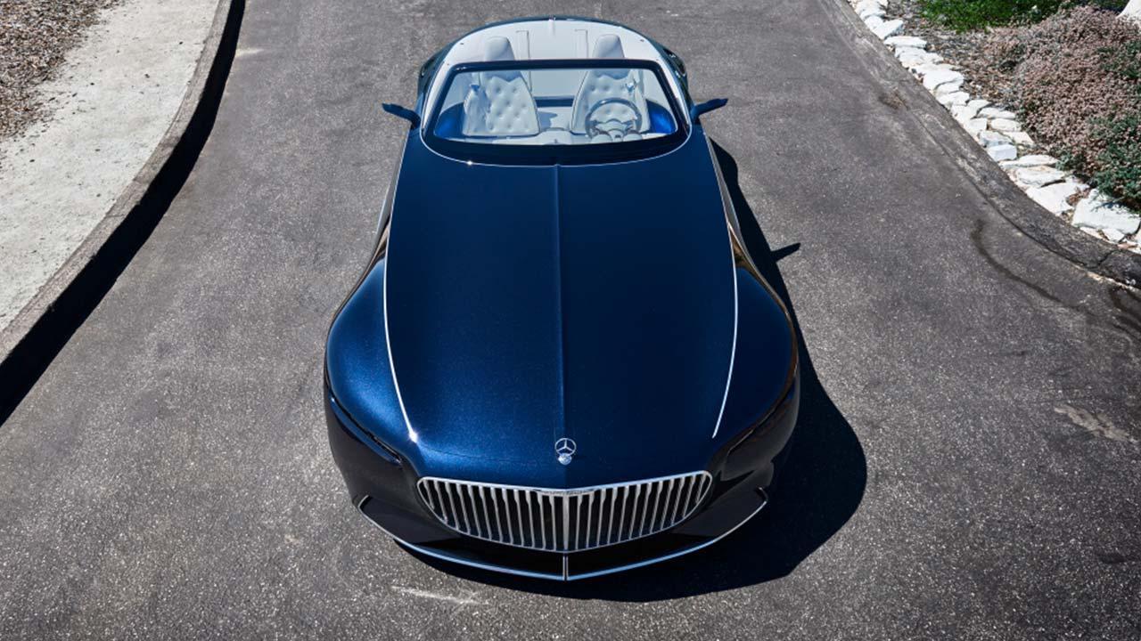 Vision Mercedes-Maybach 6 Cabrio - Ansicht von oben