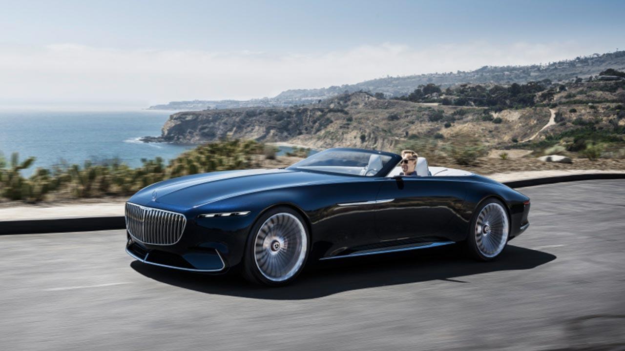 Vision Mercedes-Maybach 6 Cabrio - in voller Fahrt