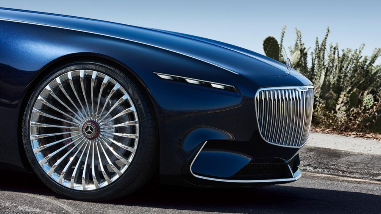 Vision Mercedes-Maybach 6 Cabrio - Vorderansicht