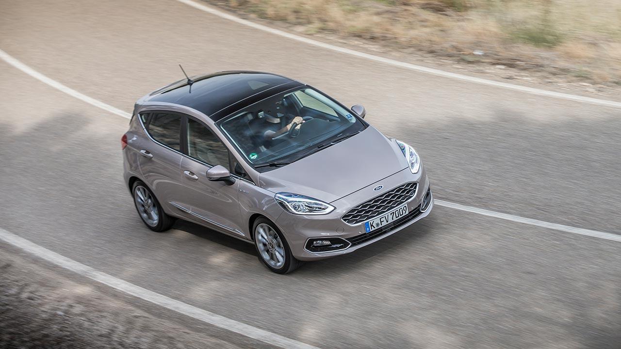 Ford Fiesta - Vogelperspektive