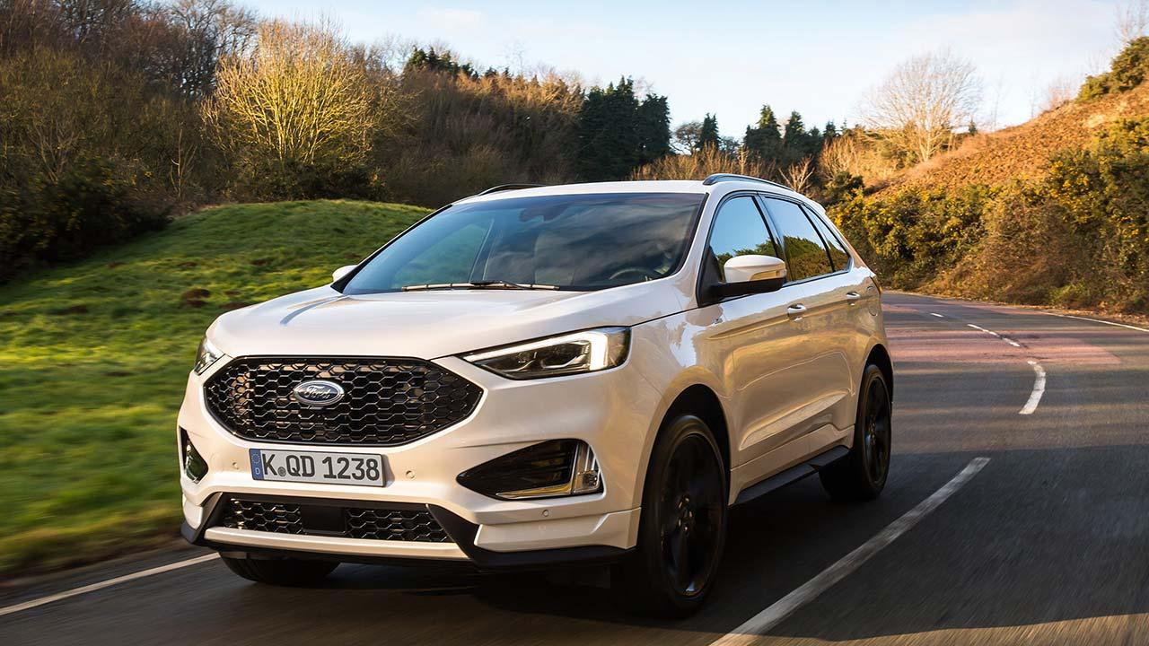 Ford Edge - in voller Fahrt