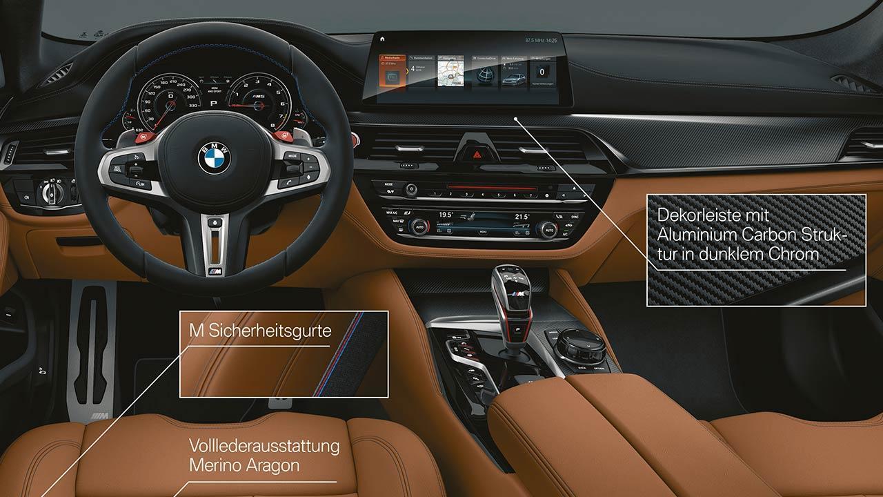 BMW M5 Competition - Cockpit